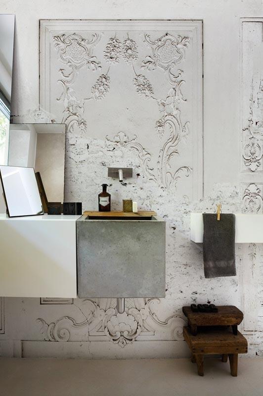 Badkamer Wasbak Opbouw ~ 11x de mooiste badkamers  INTERIOR JUNKIE