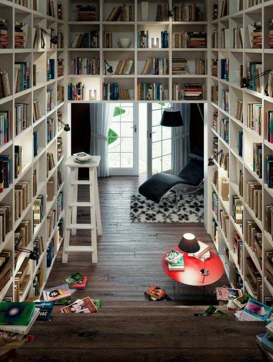 De thuisbibliotheek - INTERIOR JUNKIE