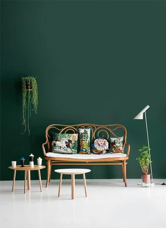 Groene Keuken Muur : Felgroen, zachtgroen, mosgroen, grijs-groen, geel-groen.. Alle kleuren
