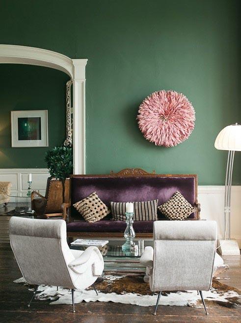 10x een ode aan groen interior junkie - Kleur trend salon ...