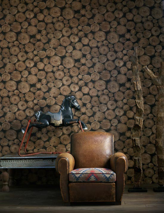 15x kunstig behang in huis - interior junkie, Deco ideeën