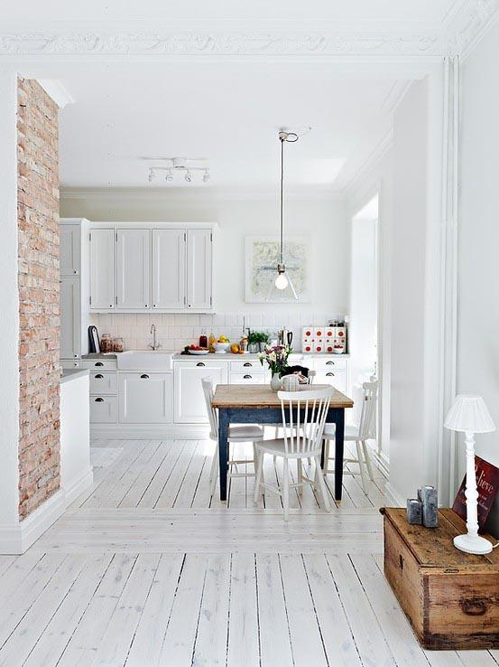 Gele muur slaapkamer : 10x inspiratie voor bakstenen in huis INTERIOR ...
