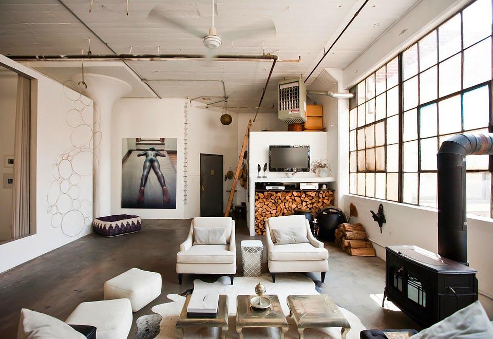 Wonen in een wereldse loft in Brooklyn - INTERIOR JUNKIE
