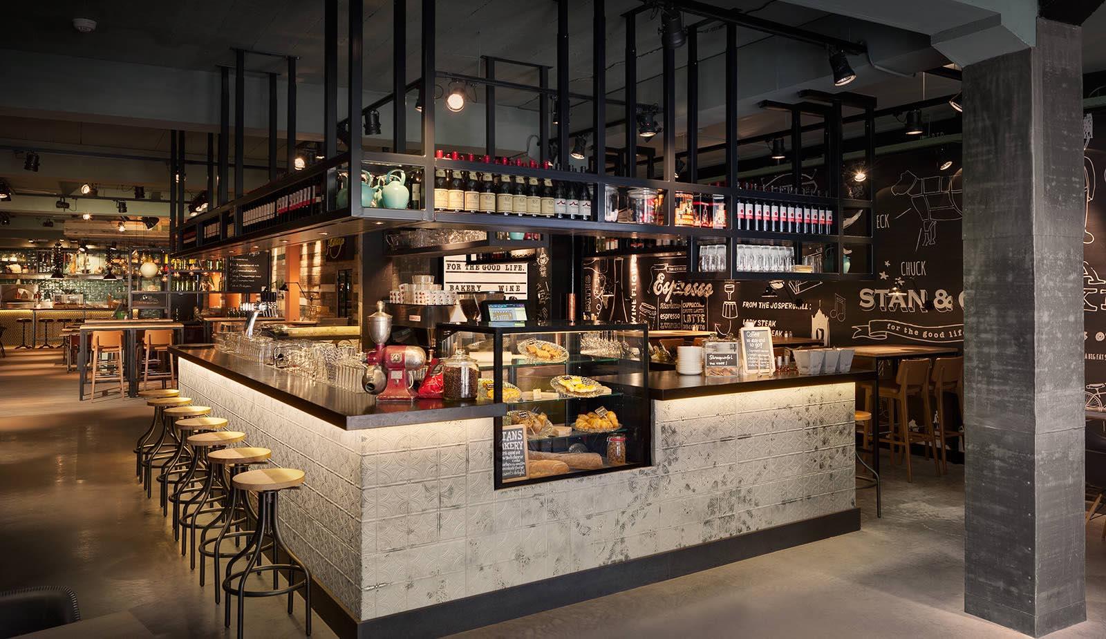 Plattegrond Keuken Horeca : Stan Co Restaurant Netherlands