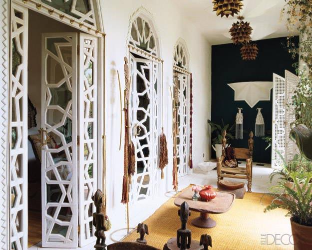 Woonkamer Inspiratie Marrakech : Moroccan Style Interior Door