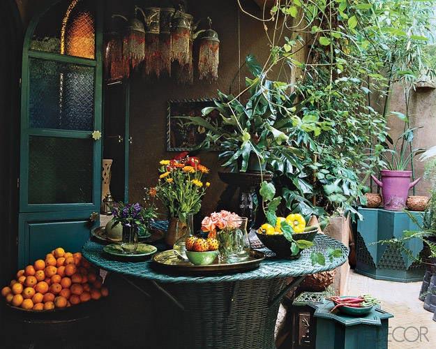 Woonkamer Inspiratie Marrakech : Outdoor Room ELLE Decor