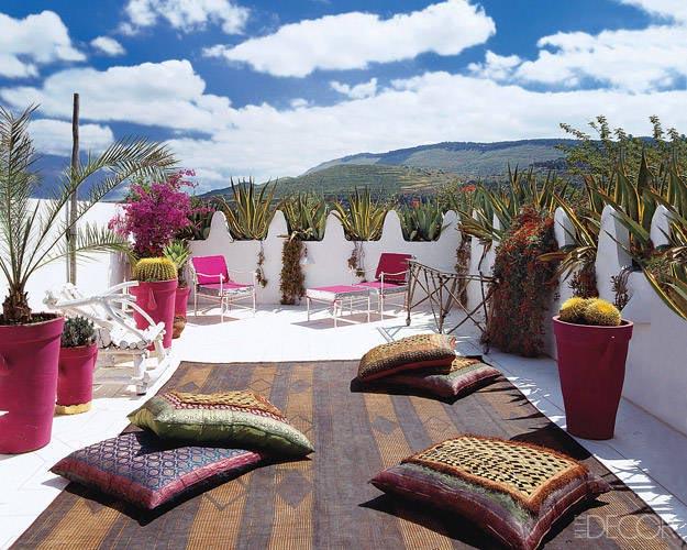 Oosterse Slaapkamer Inrichten : Moroccan Rooftop Terrace