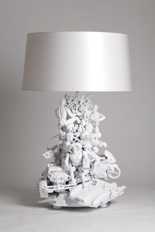 DIY: van speelgoed tot lamp - INTERIOR JUNKIE
