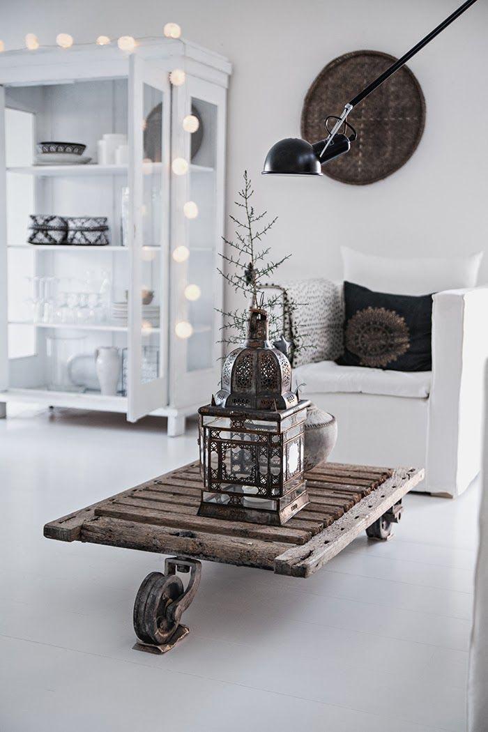 10x witte vloeren om bij weg te dromen interior junkie Woonkamer industrieel