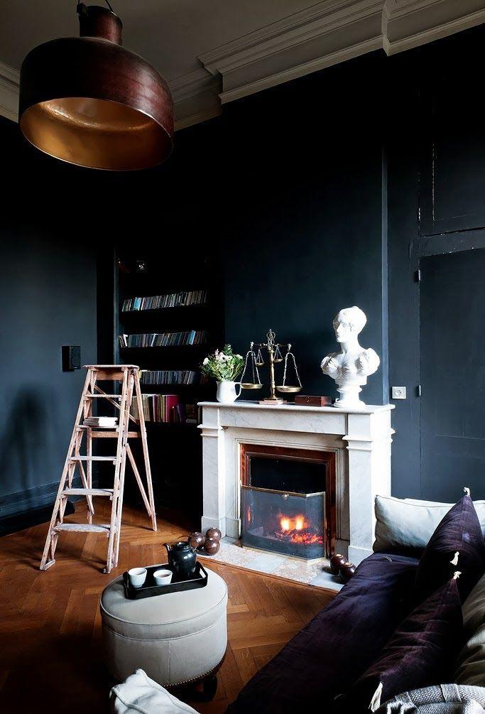 Ode aan donkere interieurs