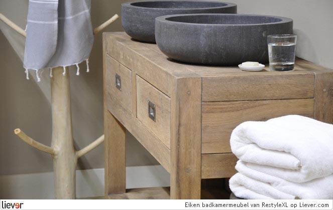 Design Badkamermeubel Eight : 10x houten badkamermeubels - INTERIOR ...