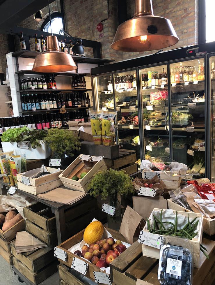 Foodhal in Malmo: Malmo Saluhall