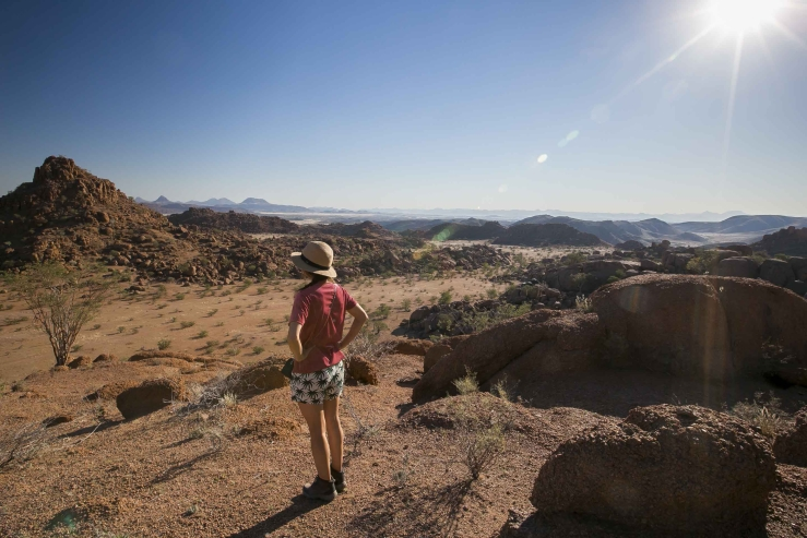 Overnachten in Namibie met stunning uitzicht