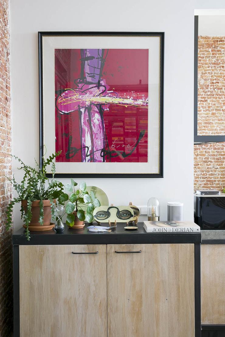 Thuis in een huis vol rozenkelims