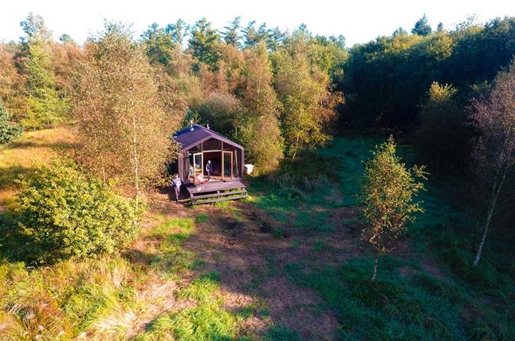 Kom tot rust in een tiny house in Drente