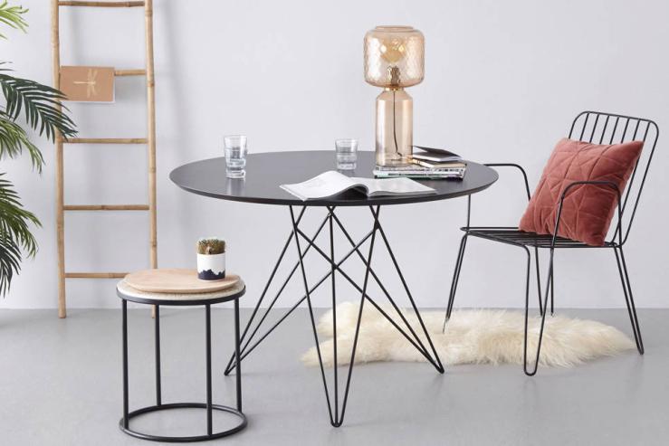 Kies voor een ronde tafel voor meer ruimte in de eethoek