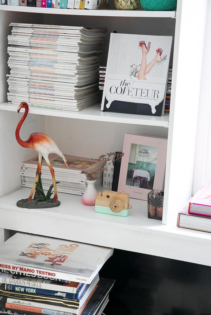 Thuis bij Bettina in een huis vol vintage meubelstukken