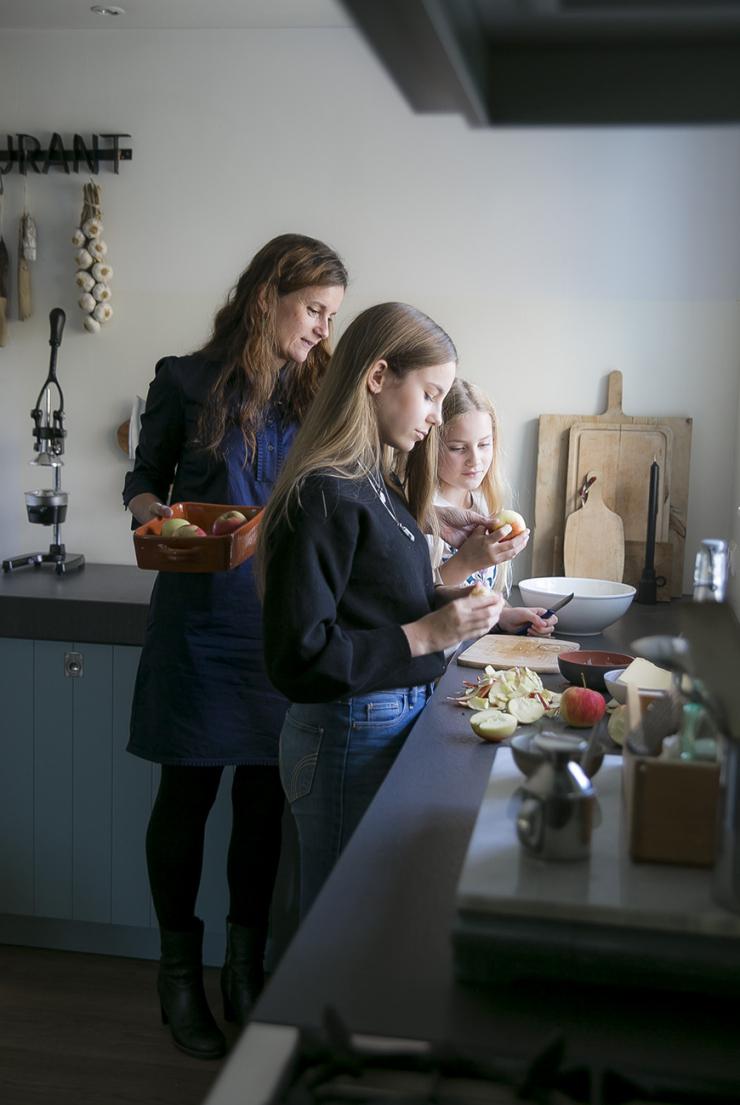 Kijkje in de landelijke keuken van Mirjam