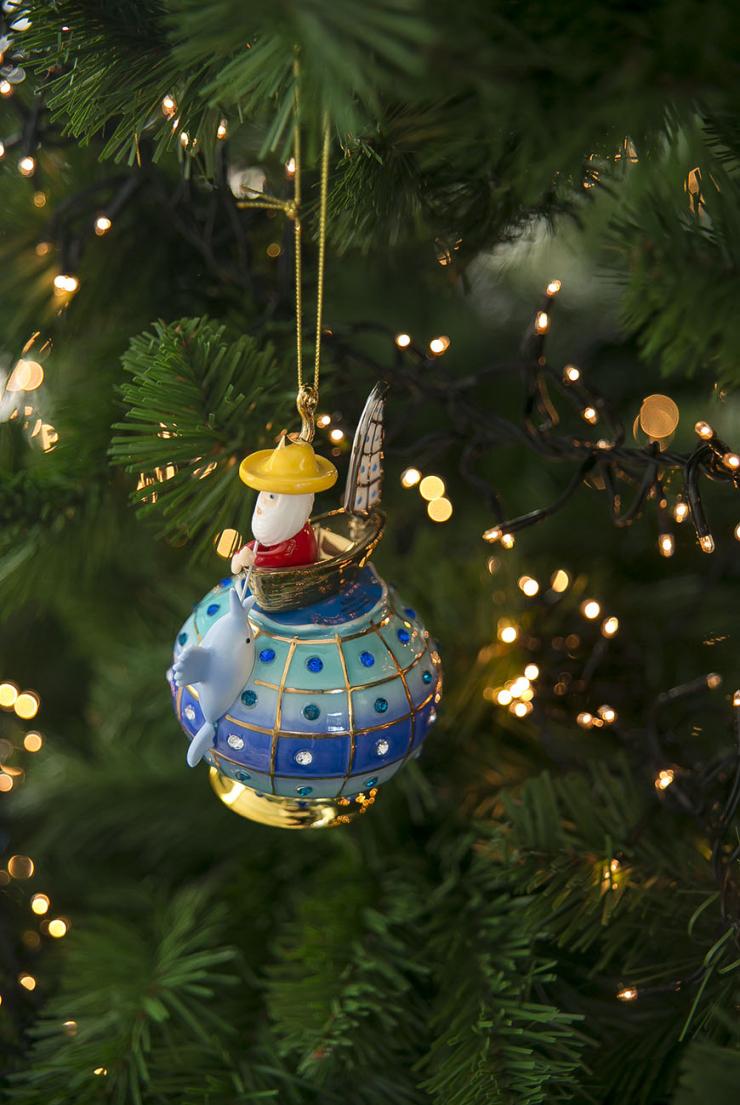 Nieuwe kersthangers in mijn boom. Zo blij mee!