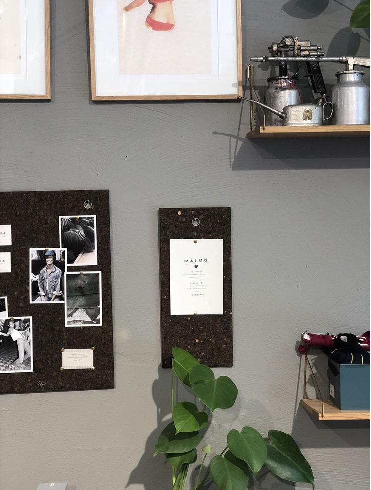 Creatief met een prikbord, krijtwand of letterbord