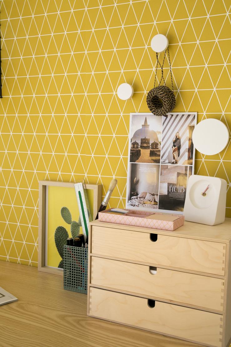 Kies voor geel op je thuiswerkplek