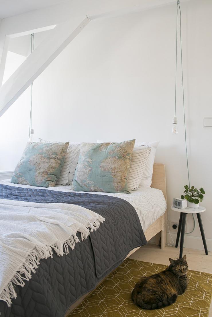 Slaapkamer DIY: een kek nachtlampje in een handomdraai