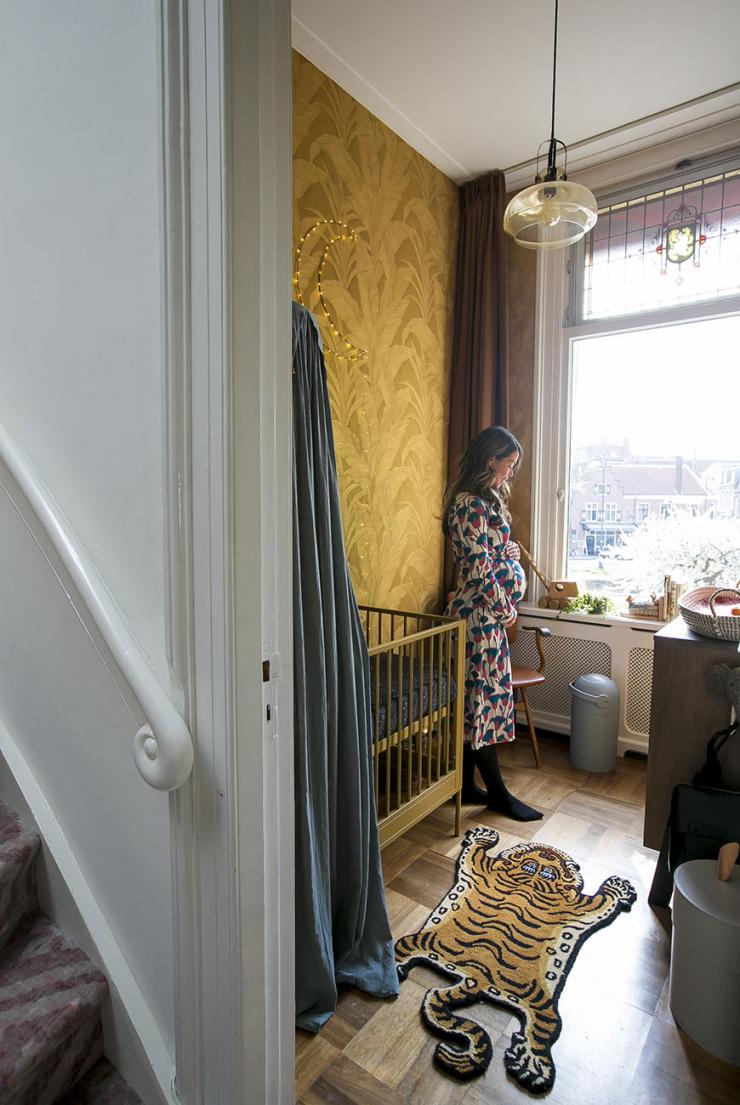 Binnenkijken in mijn gouden babykamer