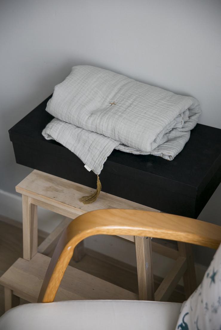 De babykamer van Danielle met coole IKEA hack