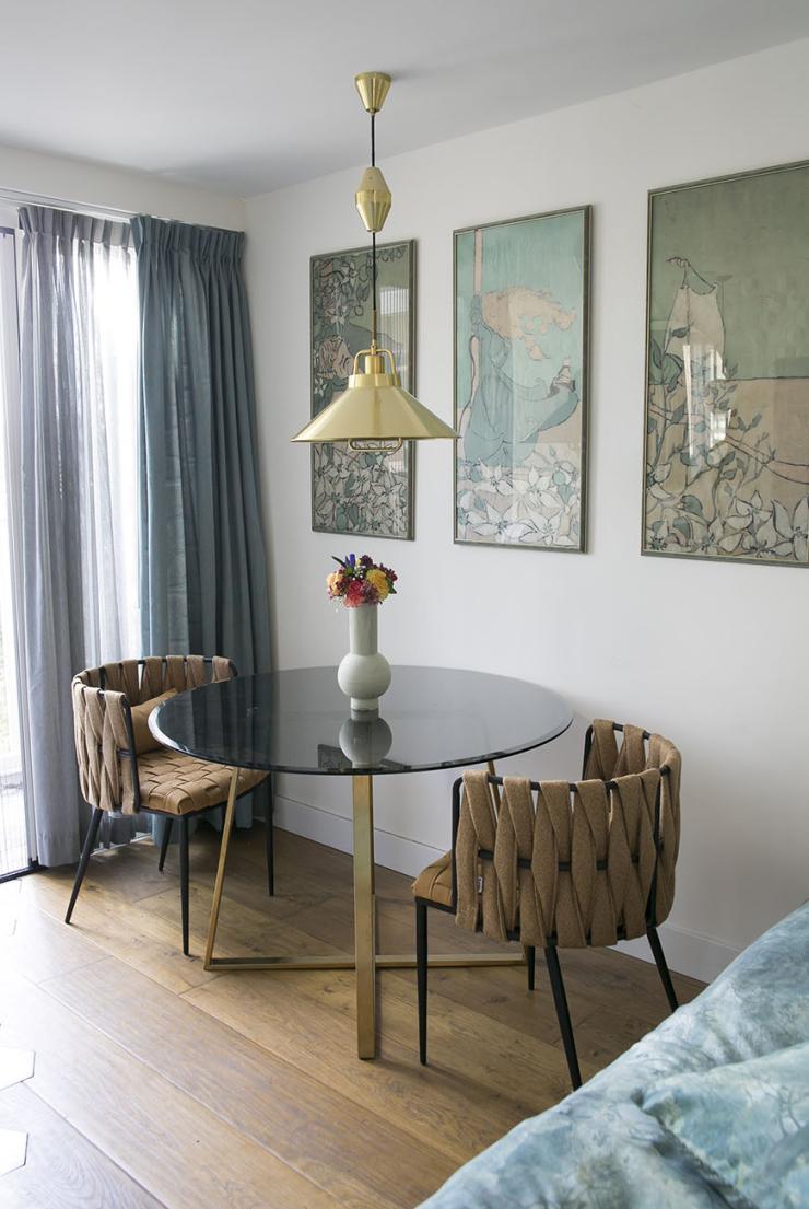Thuis bij Denise in een huis vol prints en patronen