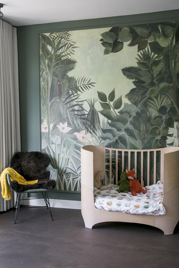 DIY: lambrisering in de kinderkamer