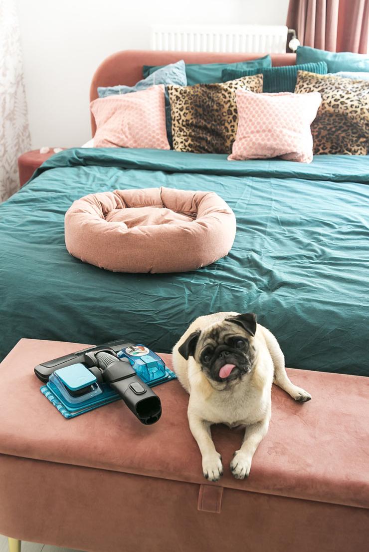 Mini make-over van de slaapkamer van Tess