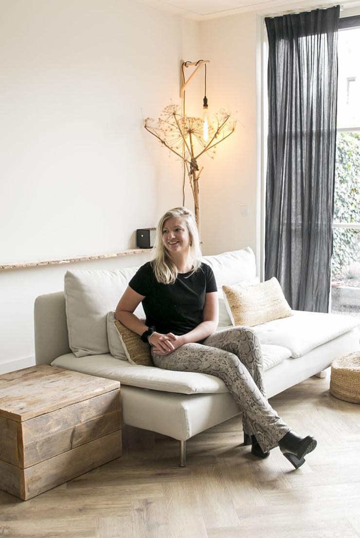 Thuis bij Michelle in een nieuwbouwhuis in Amersfoort