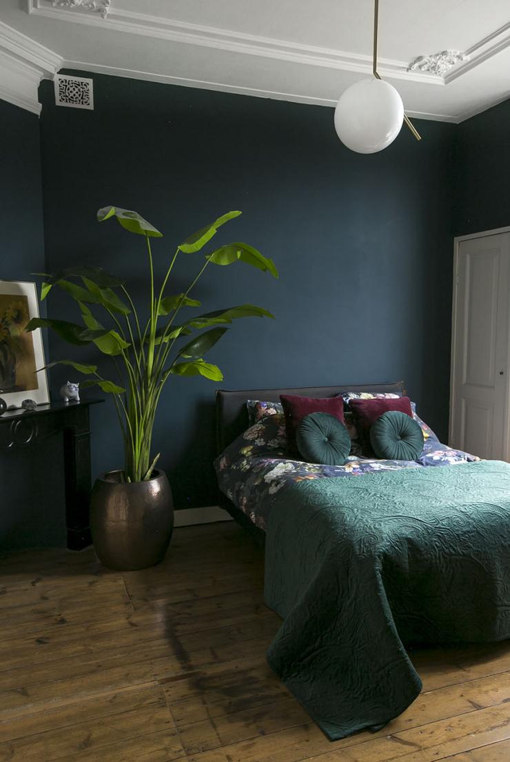DIY sierlijsten in je slaapkamer + goed lichtplan