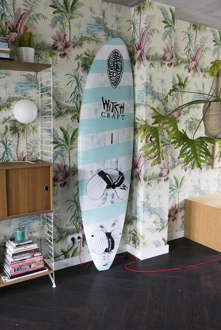 Surfplank als woonaccessoire? Waarom ook niet