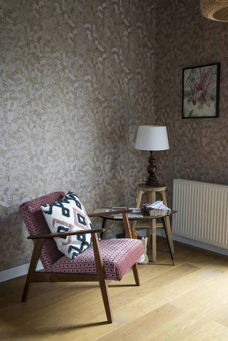 Thuis in het colour block interieur van Willemijn