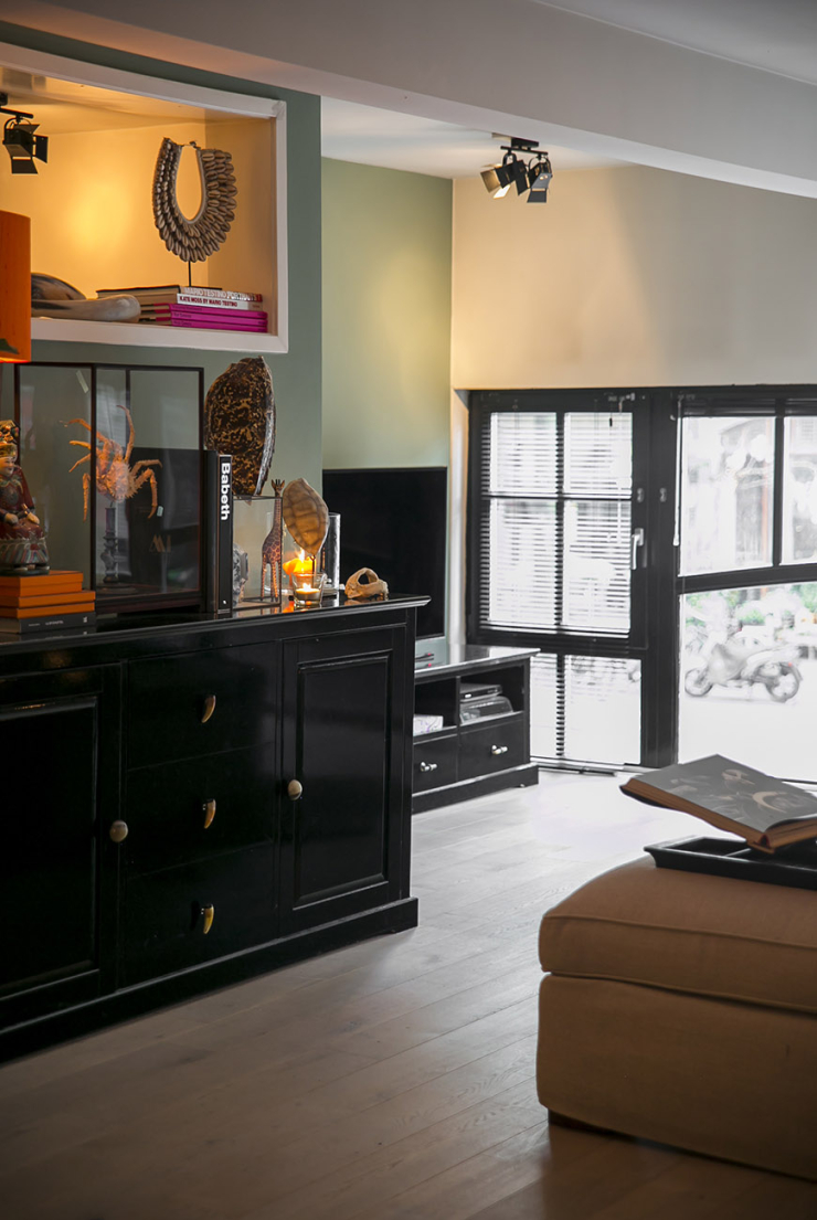 Thuis in het budgetproof en safari chic interieur van Maaike