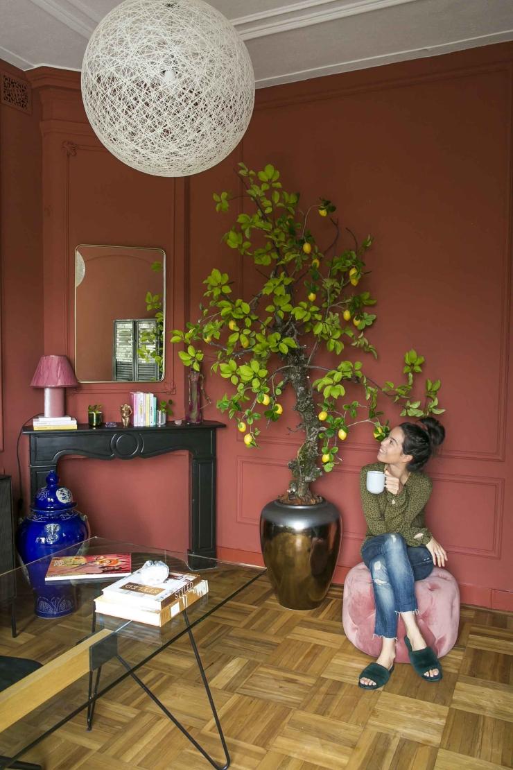 Nieuw: een citroenboom op mijn thuiswerkplek