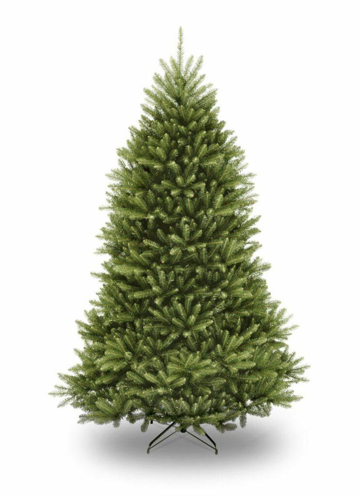 Woonfavorieten: regenboog kerstdecoratie + kunstige kerstboom