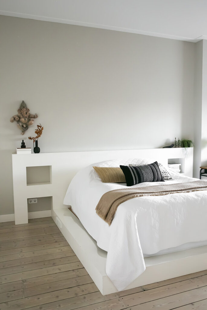 Een speels effect in de slaapkamer? Kies voor een verhoging