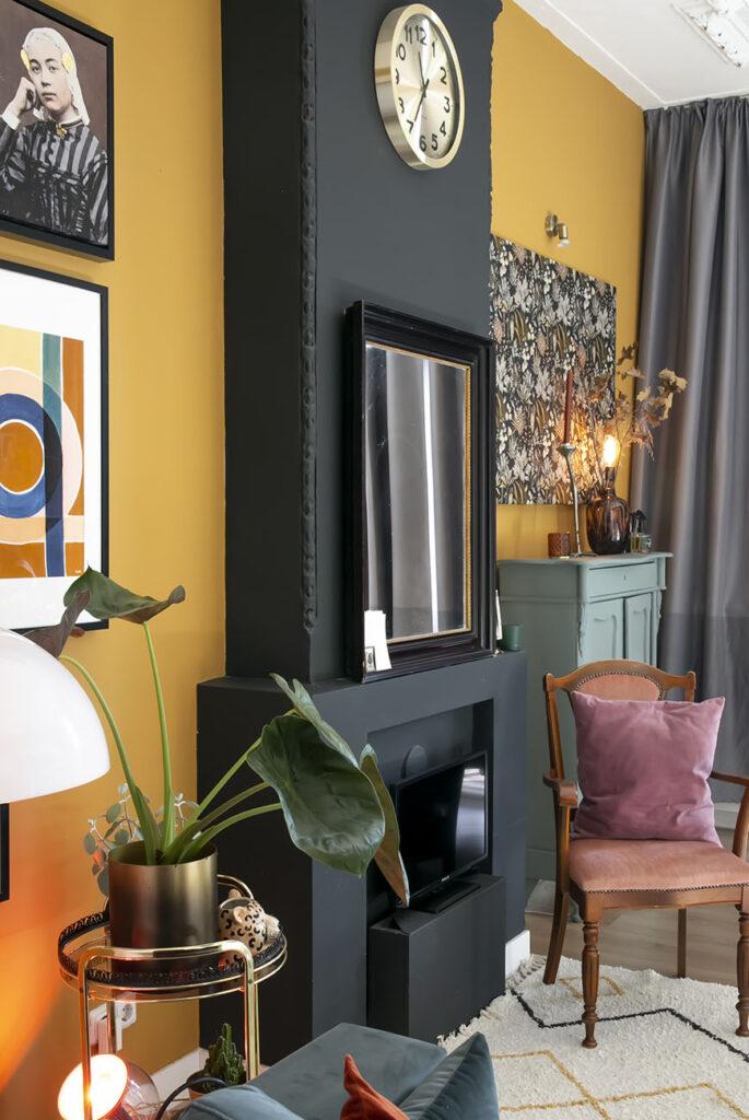 Thuis bij Doortje in haar hotel chic interieur