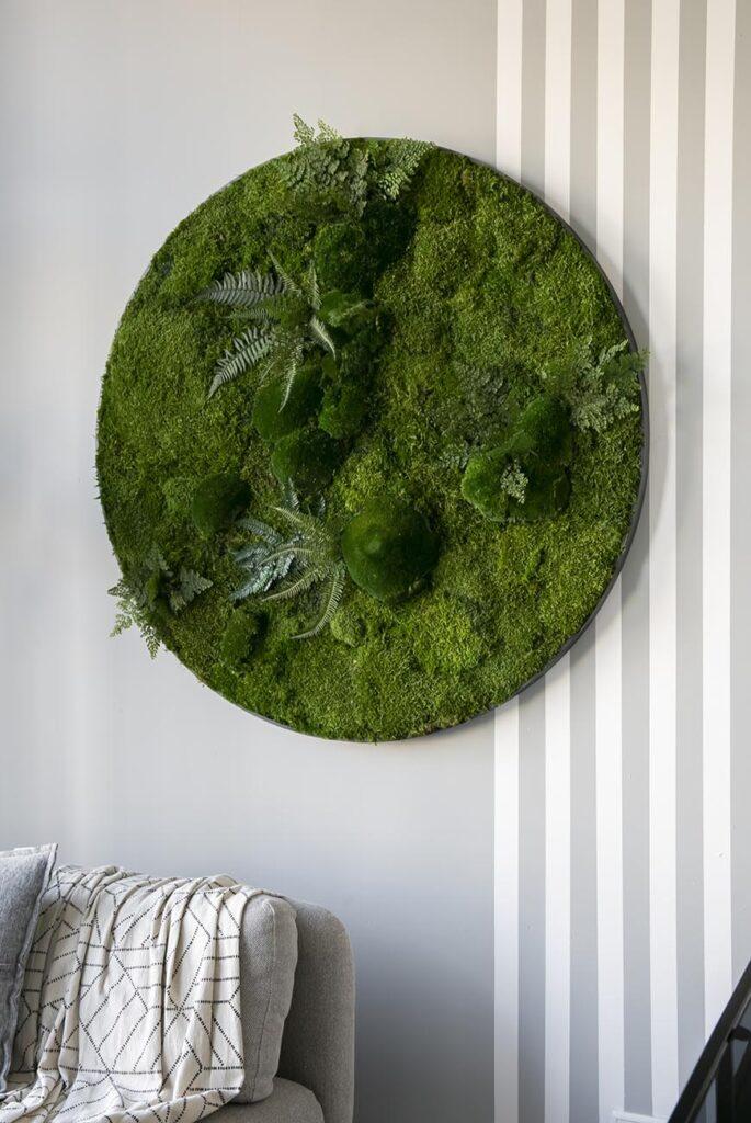 Leuk je muur op met een stunning moswand