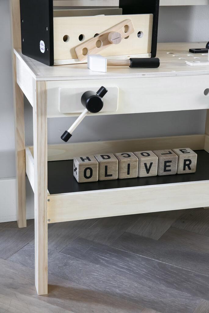 Eindelijk een speelhoekje voor Oliver