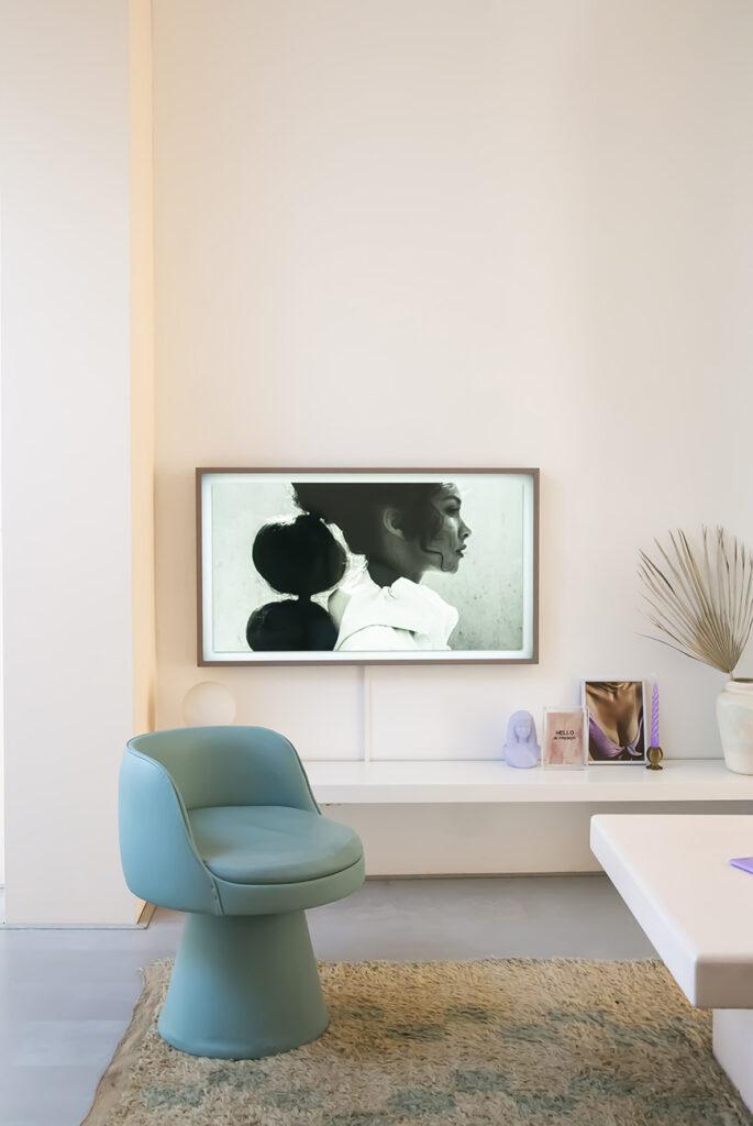 Thuis in het pastel interieur van Mandy uit Leiden