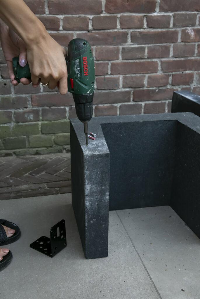DIY barbecue corner in een handomdraai